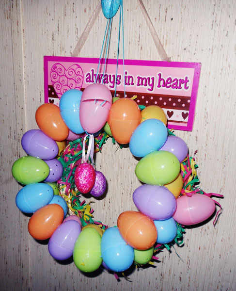 Easte Egg Wreath